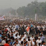 Security? RT @vmlsanna9 #RashtriyaEktaDivas #RunForUnity India finally gets a PM who leads from The Front! Jai Hind http://t.co/ozvLghEDLW