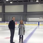 Only thing missing - ice skates! @rachelelzufon live @HARBORCTR @wkbw http://t.co/SETcPeOaVo