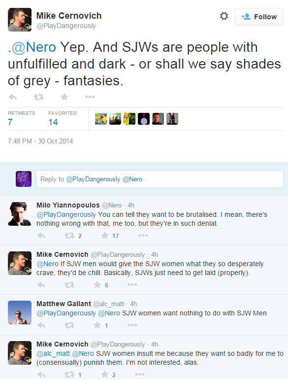 Two of GamerGate's leading figures take a quiet moment to discuss ethics in video games journalism. http://t.co/VtnvxrKzKg