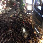 渋谷のハロウィンの力ですな。笑 人人人人。 #渋谷 #ハロウィン http://t.co/pj4rQUErhQ