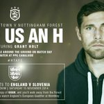 One #HTAFC or #NFFC #GUAH reader will walk away from tomorrows game with tickets to see @England at Wembley... (LF) http://t.co/wrC4yfTjft