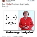 (-_-) -<>- #bis Il existe désormais une émoticône Angela Merkel >> http://t.co/pWPcrVBJP1 http://t.co/vEhRRew8p6