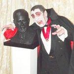 Bram Stoker and Paddy Drac #Dublin #Halloween @soneillsongs @Dr_Bill_wha @BriandontKerrr @JimmyRabbitte69 @Aoife_Lou http://t.co/vMQOmWcGNL