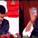 """@ANI_news: Mumbai: @Dev_Fadnavis takes oath as the Chief Minister of Maharashtra http://t.co/7DTgldLqVZ"" #bjp #mahaoath"