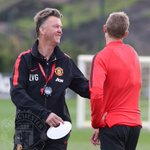 Louis van Gaal during todays training session. #MUFC http://t.co/AZ5OlLbvT7