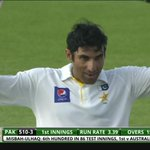 And now its a century for Misbah! Superb performance from the skipper. PAK 3-512: http://t.co/6RXh67SLBb #PAKvAUS http://t.co/9SDCUs0LlC