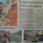 Umur dua tahun dan mendaki di 40 buah negara. Budak AF tak habis-habis dengan menuju puncak. http://t.co/APwkJf27fL
