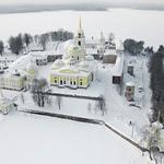 Озеро Селигер. Монастырь Нилова Пустынь. Тверьская обл.Россия. http://t.co/ufozy18ZO7