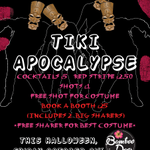 Join us tonight @BambooDoorSHF Tiki Apocalypse! Costume prizes & amazing drinks offers! #Halloween2014 #Sheffield http://t.co/QB7HeXwftL