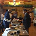 UWTC staff #Volunteering at GIAC breakfast w/ guest speaker @SvanteMyrick #liveunited #twithaca ! http://t.co/ZhMqgn8BPC