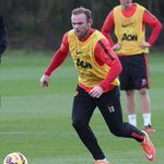 Rooney looks fit and sharp, ready to take some action in the derby day http://t.co/3X7oy13TkT