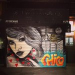 """#NYC """"Welcome Ambassador"""" Taylor Swift gets an RIP mural by Chico on the #LES --> http://t.co/DQolggFwiH http://t.co/sA9UQet0vh"""