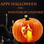 Happy Halloween from Winthrop University! http://t.co/iM5Y2svOs1