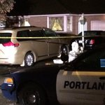 Portland Police still guarding the scene of a double homicide at NE 114th and Glisan. Updates @KGWSunrise http://t.co/ohzzaHAW0G