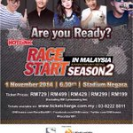 Are you ready Malaysia? #RaceStartMY http://t.co/8iQrF1XXuR