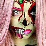 Хэллоуин макияж идей #Хэллоуин #макияж #грим #Halloween #Makeup #neskuchniykrivbass http://t.co/cY5tRAvSis http://t.co/2RMqrrx5iU