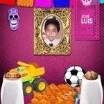 El altar de muertos de @Al_Portador en honor a José Luis Tehuatlie Tamayo #Chalchihuapan #PuebladeLuto http://t.co/fk9hMCamA2