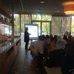 @GeriBonhof opent de Autumn Course 2014 van @HU_Utrecht georganiseerd door @StudPartHU wordt een leerzaam weekend! http://t.co/53k32Etf57