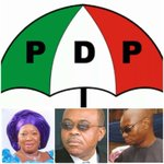 T.A Orji, his wife and son picked PDP form for senate, reps and assembly. Castrocracy in Abia. @omojuwa @ogundamisi http://t.co/Kb6f33gTUW