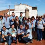 Los grupos @Alkazires462 @gs527adarve  @493Azimut y @ASDEEx  acompañan a la alcaldesa de Cáceres @Ayto_Caceres http://t.co/A1tycIcsq3