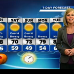 Its going to get chilly this weekend, with lows reaching into the 40s http://t.co/M3y9Jh4pJY #flwx http://t.co/3Z6t8Q0ua1
