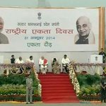 Earlier today joined PM @narendramodi ji for #RunForUnity program on Sardar Patels birth anniversary. http://t.co/fGh7y4ACSg