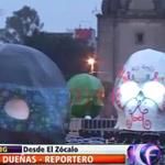 #ENVIVO Calaveras monumentales rinden homenaje a escritores en el Zócalo de la #CDMX http://t.co/9TLckAAq3G http://t.co/pJ3jei0VQI