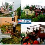 Rumah rosak teruk di Kg Sungai Baru, Kota Setar, Kedah. pix Sharul Hafiz Zam Klik dan baca http://t.co/Z3DQopmSk2 http://t.co/81jRyWbzAO