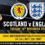 See Scotland v England in style at Celtic Park. Win two £125 hospitality packages. Simply RT this to enter the draw http://t.co/hQrO0iWxjv
