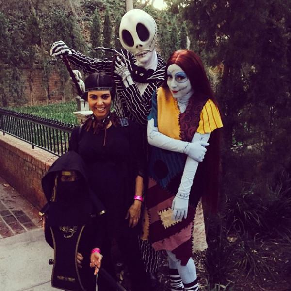 Kourtney Kardashian, Kate Hudson & more celebs share their spooky Halloween Instagrams: