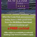 Disappointed by Croke park announcement then check @mcwilliamph announcement http://t.co/qa7WYjwOGU
