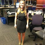 So... In honor of #Halloween.. @CassidyQuinn dressed up like this! http://t.co/3H46ByO2ek