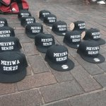"What a hustler! ""@ewnreporter: #SenzoMeyiwa Memorabilia on sale outside Durban City Hall. ML http://t.co/n8m9He5SIE"""