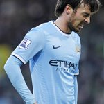 David Silva has been ruled out for 3-4 weeks with a knee injury and will miss the Manchester derby this Sunday. http://t.co/gzvaBEhkgQ