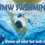 @UMWSwimming takes on @YCPathletics TONIGHT in Goolrick Pool at 6PM! Trick or Treat? Our first @cacsports meet! http://t.co/4ht8vY7I1j