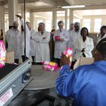 The UK trade mission concludes their #Zim visit with a tour of #Unilever Zim factory #UKZimTrade @263Chat @kubatana http://t.co/WlSPGIJES4