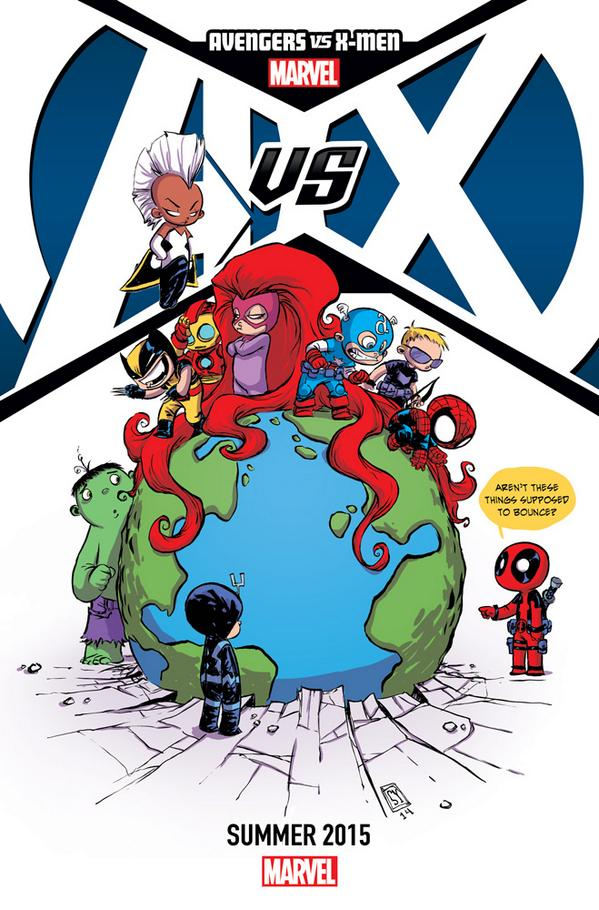 #Avengers Vs. #XMen -- Coming Summer 2015 #AvX http://t.co/WIQXSu9HbF