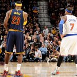 Melo spoils the homecoming in Cleveland to headline Thursdays 5 games: http://t.co/3Usjh9ZahN http://t.co/U6DdjaDBea