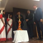 Have a look at the Lighting of the lamp ceremony by our honorable chief guests!Great start to the event#50YearsOfSOS http://t.co/cjAIhVeAhc