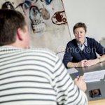 På @hsfodk har vi lige haft besøg af bysbarnet @JosephineFock. @alternativet_|s spidskandidat i Østjylland #dkpol http://t.co/6zZIpTVaUV