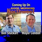 Mayor David Condon and City Council President Ben Stuckart coming up on #GMNW. Have any Qs? Tweet them to us! #KXLY http://t.co/7n1UahdauS