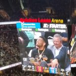 And of course @joehaden23 was in the house!!!! #GoBrowns #GoCavs #AllforCle http://t.co/xtr5hAM0cK