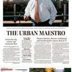 In today's Globe: Remembering @mayortommenino, and no sign of @CharlieForGov's fisherman http://t.co/ovQv3KCbdx http://t.co/hHfhImw57E