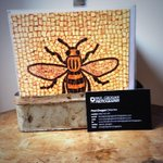 And of course the #Manchester Bee ???? #Berlin treasure @paul_grogan http://t.co/xp8914oHum