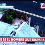 """#AHORA """"Francotirador"""" en Palermo. Hombre se atrincheró en L.M Campos 86, desde su depto en piso 12. http://t.co/MlJA4zSDH8"""