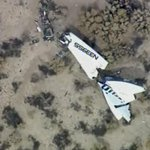 One of #SpaceShipTwos twin tails lies on desert floor RT @AviationSafety: https://t.co/wj3F5sBEnK
