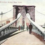 The Cables on the Brooklyn Bridge, 1910 (PC) | #NYC #NY | http://t.co/cBYlhcEwYZ http://t.co/8ypNabCeDJ