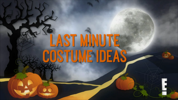 Happy Halloween! Need a last minute costume for tonight? We're here to help: