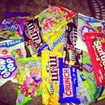I dont eat most if this stuff but I hope all the kids have a blast trick or treating! :) #candyoverload #swfl #candy http://t.co/bxlCJxuAnF