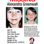 Help find Alexandra Greenwall. Download poster here: http://t.co/SoIOI8ZAJ4 http://t.co/Bw7HQyeybm